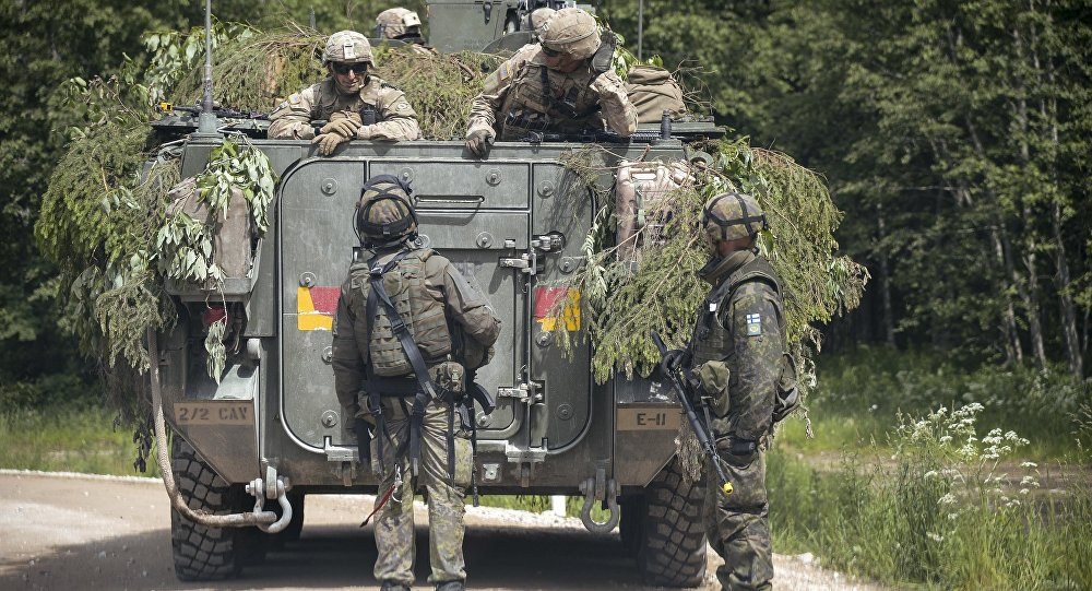 Солдаты НАТО в Эстонии, архивное фото