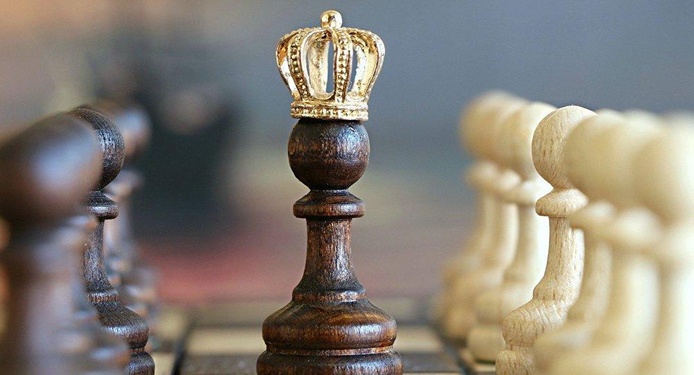 Шахматы, архивное фото