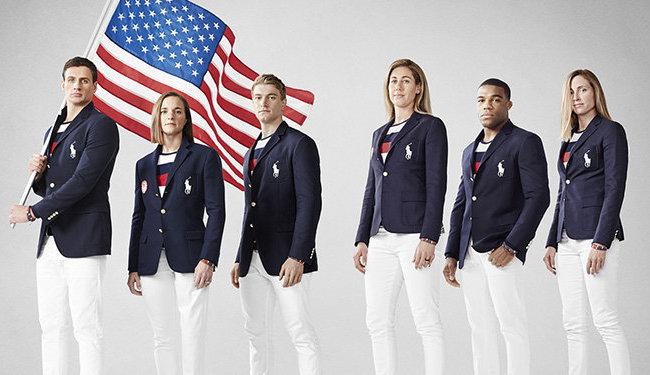 Парадная форма олимпийской сборной США на Играх в Рио