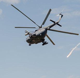 Helikopters Mi-8. Foto no arhīva