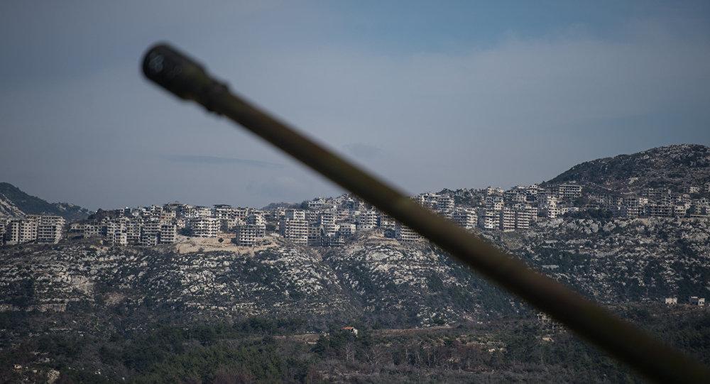 Idlibas pilsētā Sīrijā. Foto no arhīva