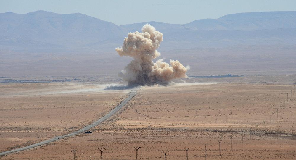 Situācija Sīrijā. Foto no arhīva
