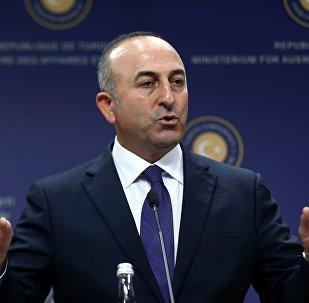 Turcijas ārlietu ministrs Mevluts Čavušoglu