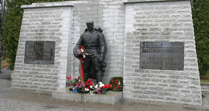 Бронзовый солдат, монумент Воину-Освободителю в Таллине