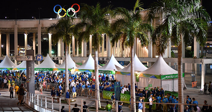 XXXI vasaras Olimpisko spēļu atklāšanas ceremonija Riodežaneiro