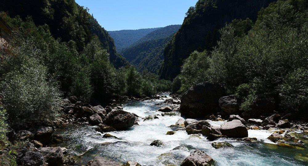 Абхазия, архивное фото