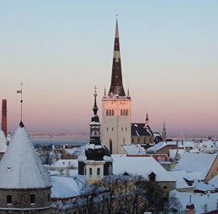 Tallinas vēsturiskais centrs. Foto no arhīva