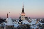 Исторический центр Таллина - Старый город. Архивное фото