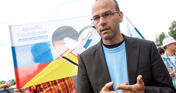 Райнер Ротфус, один из организаторов автопробега Дружба