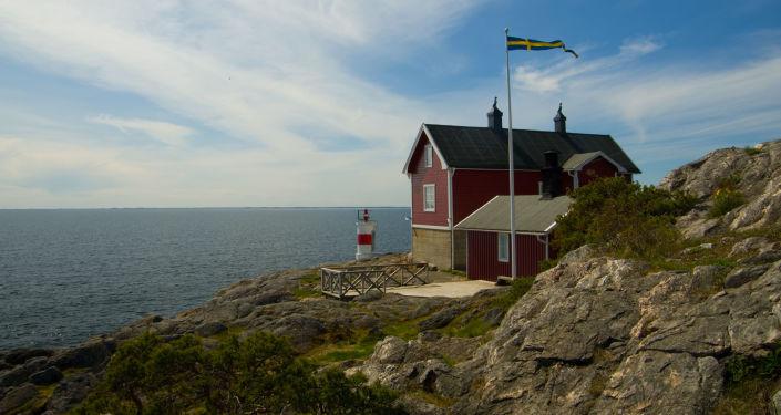 Дом на берегу моря в Швеции