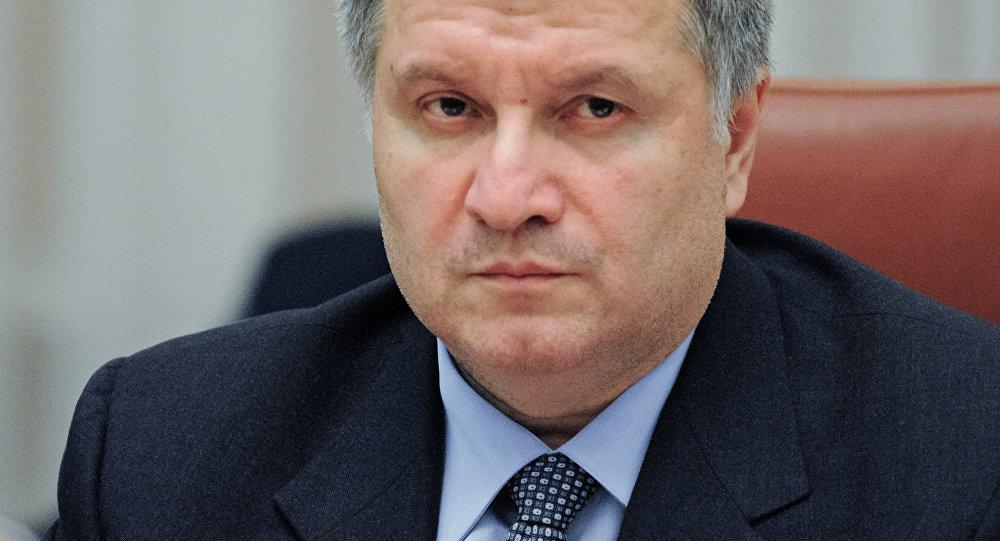 Министр внутрених дел Украины Арсен Аваков. Архивное фото