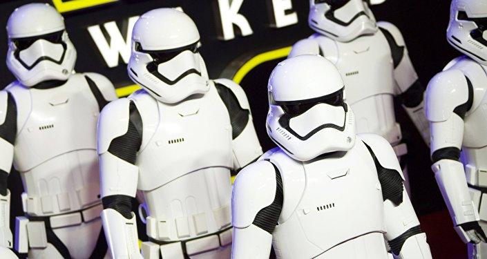 Personāži no filma Zvaigžņu kari. Foto no arhīva