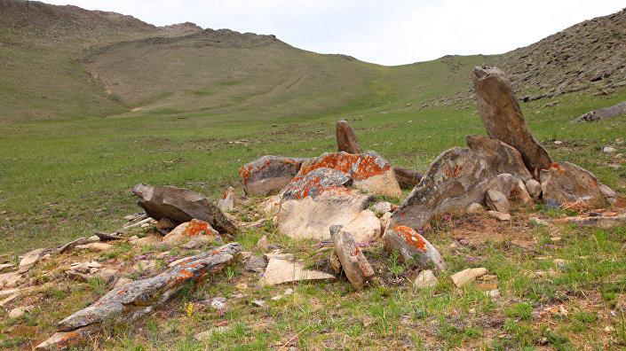 Древнее захоронение в Тажеране