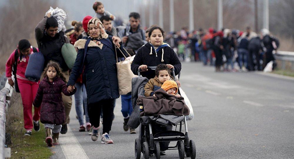Bēgļi. Foto no arhīva