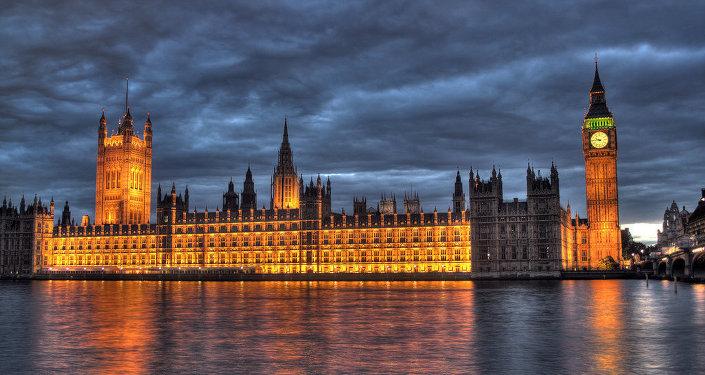 Здание британского парламента в Лондоне, архивное фото