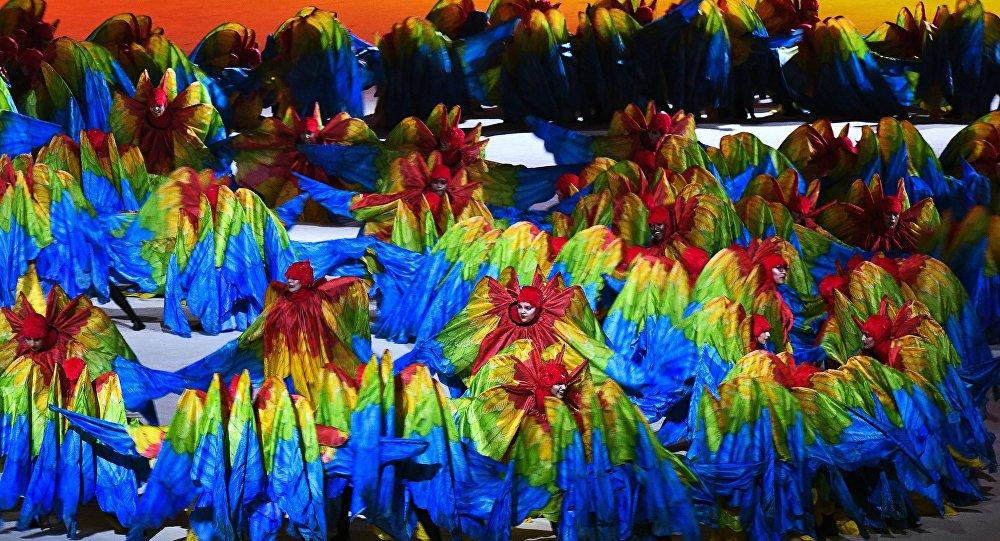 XXXI vasaras Olimpisko spēļu slēgšanas ceremonija Riodežaneiro