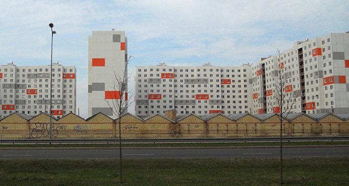 Pļavnieki - viens no lielākajiem Rīgas mikrorajoniem. Foto no arhīva