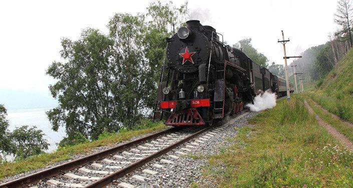Pa Baikāla dzelzceļu kursē pareizi vilcieni!