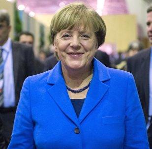 Vācijas kanclere Angela Merkele. Foto no arhīva