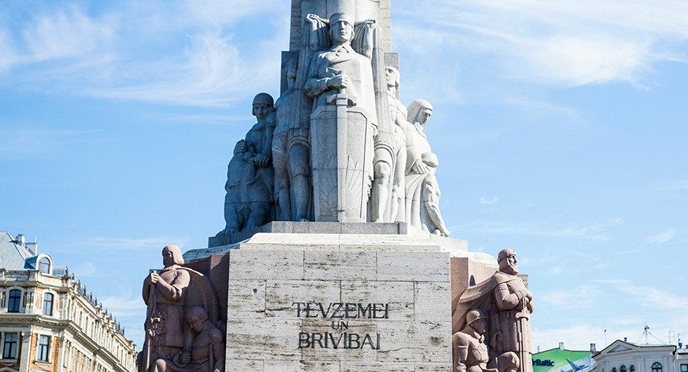 Рижская милиция  подготовилась кмаршу вчесть легионеровСС