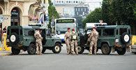 Военная полиция Латвийской армии выдвинулась на позиции