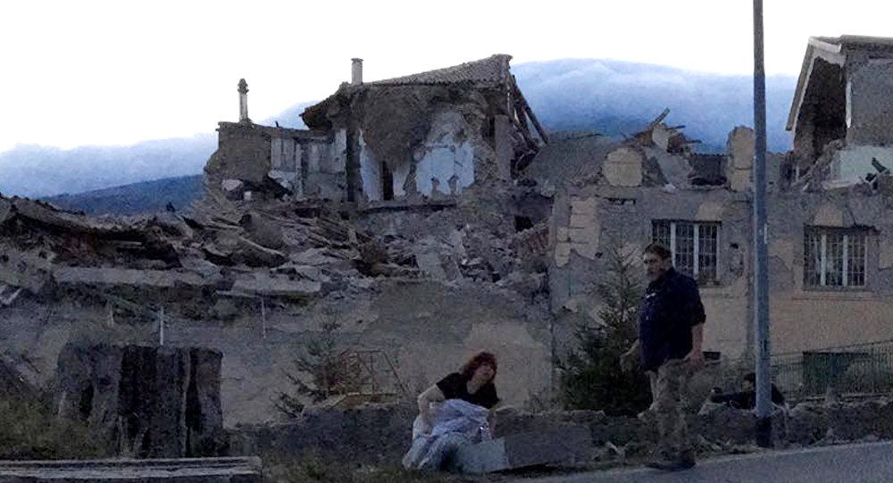 Землетрясение разрушило итальянский город Аматриче