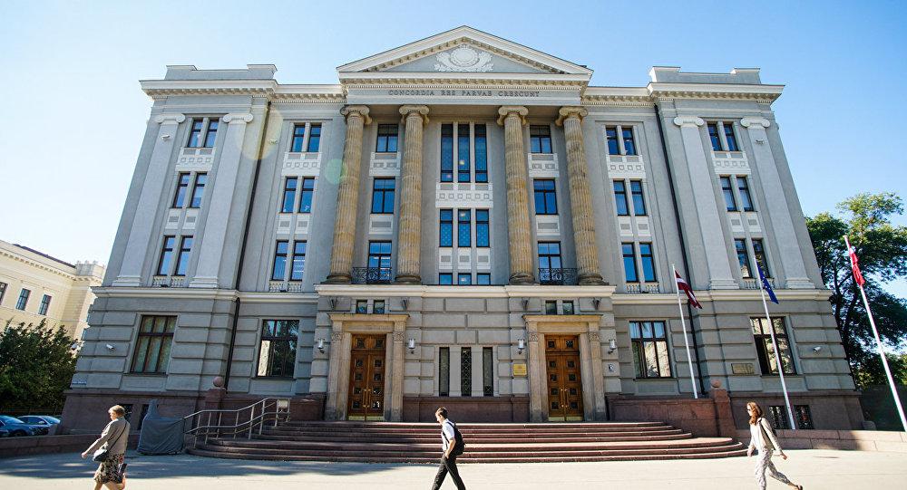 Здание министерства иностранных дел Латвии