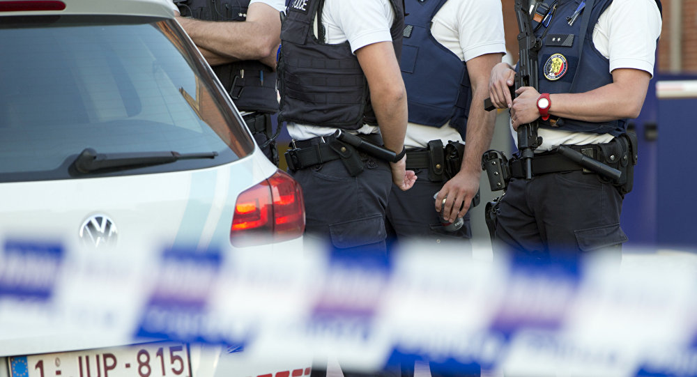 Beļģijas policija. Foto no arhīva