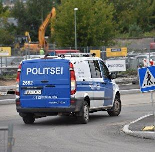 Policija. Ilustratīva fotogrāfija