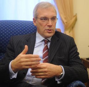 Krievijas pārstāvis Ziemeļatlantijas aliansē Aleksandrs Gruško