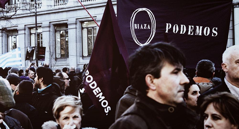 Испанская партия Podemos. Архивное фото