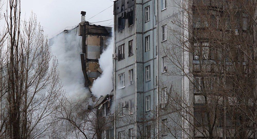 Взрыв бытового газа в многоэтажном доме в Волгограде