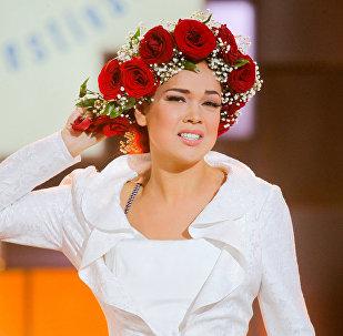 Саманта Тина, латвийская участница фестиваля искусств Славянский базар в Витебске. Архивное фото