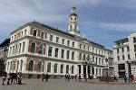 Здание Рижской думы, архивное фото
