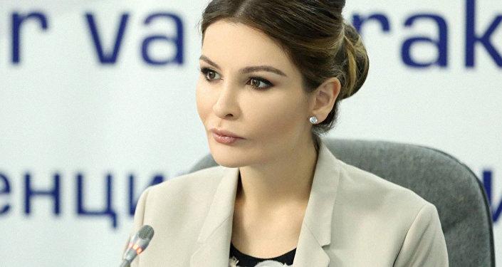 Лола Исламовна Каримова-Тилляева. Архивное фото
