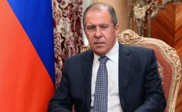 Krievijas ārlietu ministrs Sergejs Lavrovs.