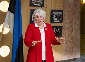 Bijusī Igaunijas ārlietu ministre Marina Kaljuranda
