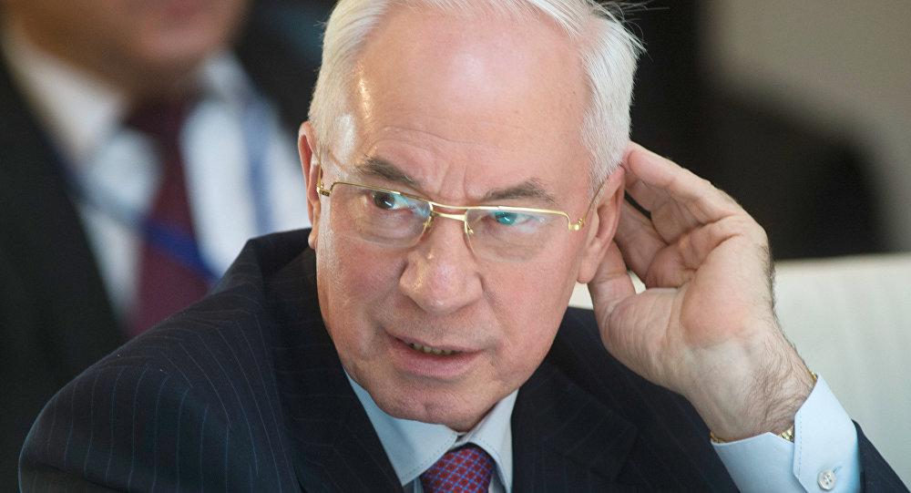 Ukrainas bijušais premjerministrs Nikolajs Azarovs