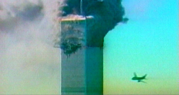 Terorakts Ņujorkā 2001. gada 11. septembrī. Kadri no arhīva