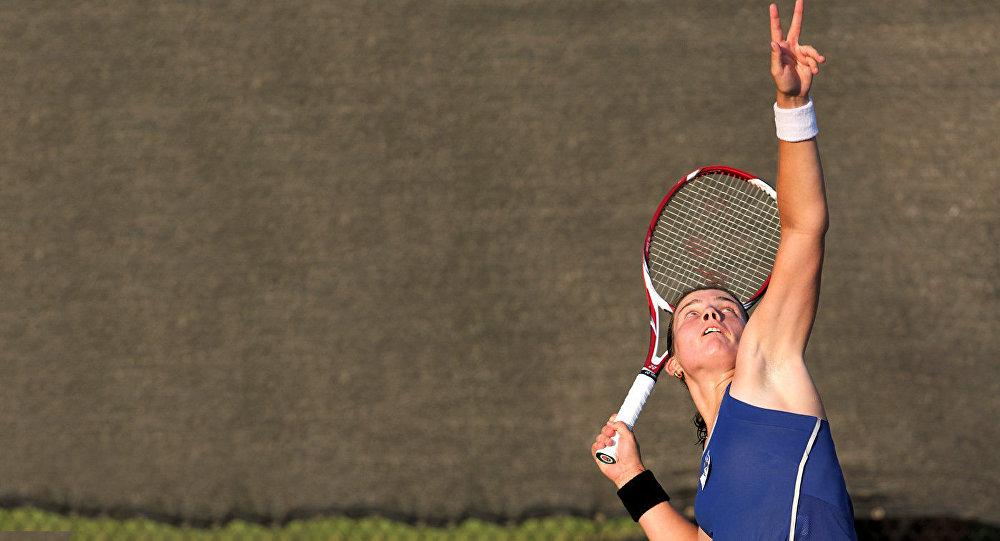 Latvijas tenisiste Anastasija Sevastova. Foto no arhīva