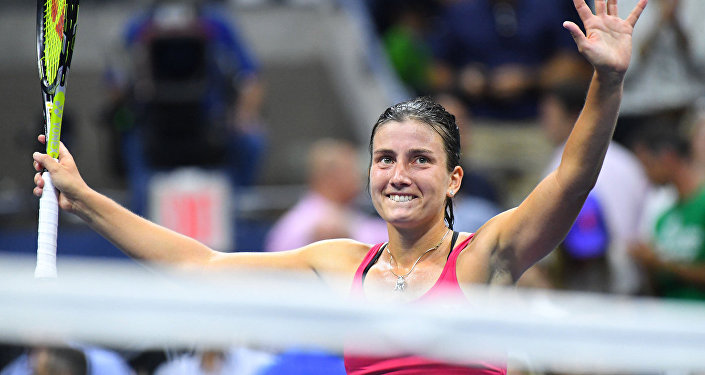 Анастасия Севастова на US Open 2016
