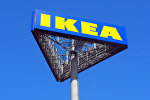 Вывеска магазина IKEA