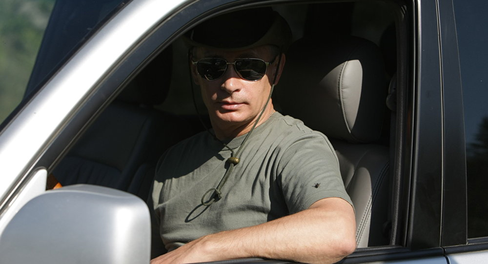 Krievijas valsts vadītājs Vladimirs Putins