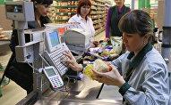 Lielveikala kasiere