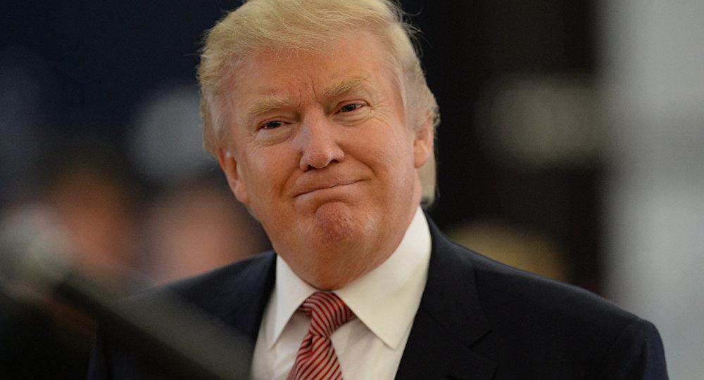 ASV prezidenta amata kandidāts no Republikāņu partijas Donalds Tramps