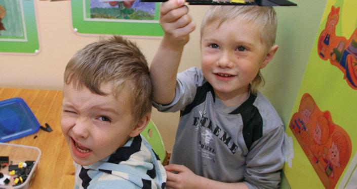 Bērnudārza audzekņi