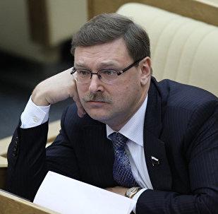 Krievijas Valsts domes plenārsēde. Foto no arhīva