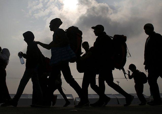 Беженцы в Европе, архивное фото