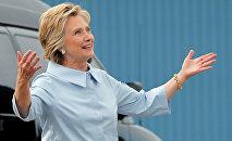 ASV prezidenta kandidāte no demokrātu partijas Hilarija Klintone