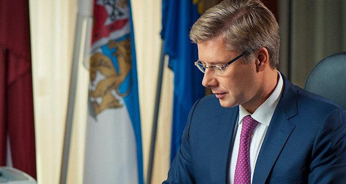 Rīgas mērs, partijas Saskaņa līderis Nils Ušakovs. Foto no arhīva